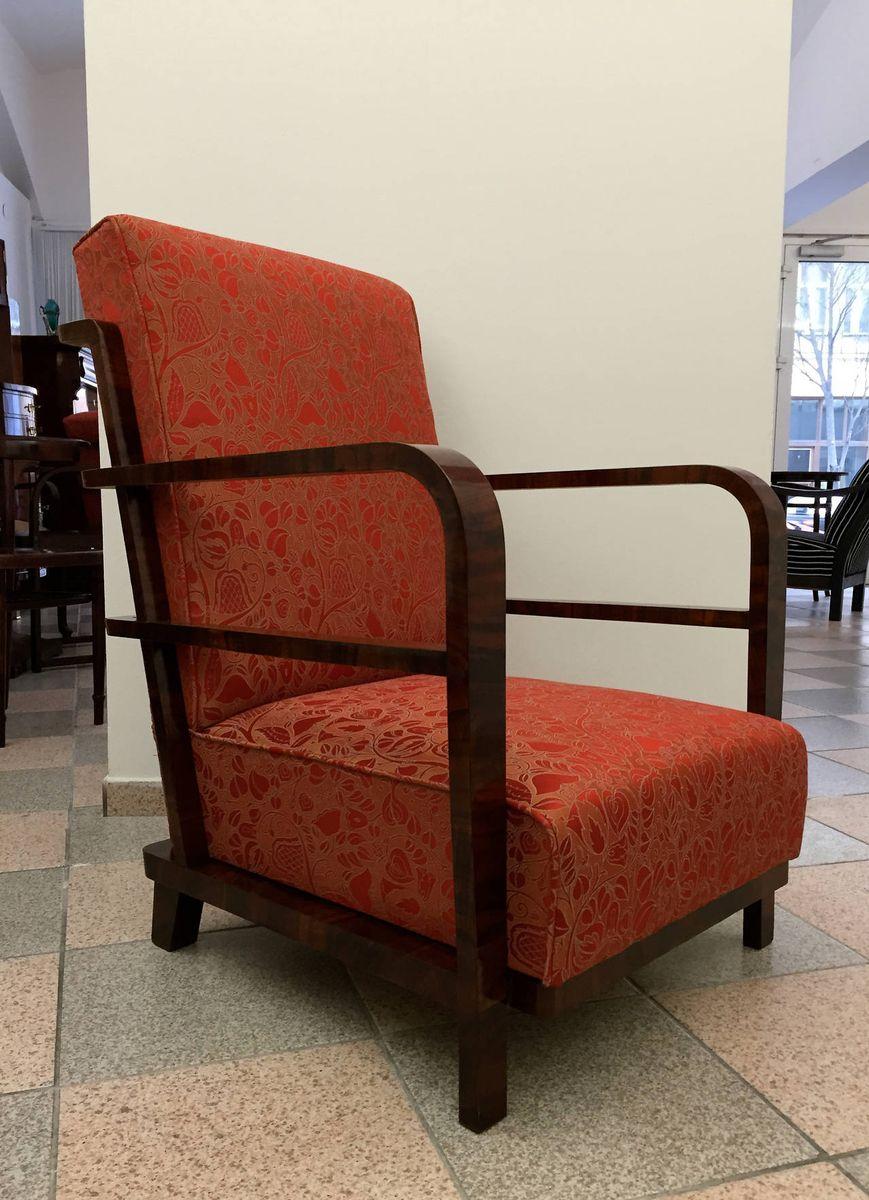 fauteuils art d co 1930s set de 2 en vente sur pamono. Black Bedroom Furniture Sets. Home Design Ideas