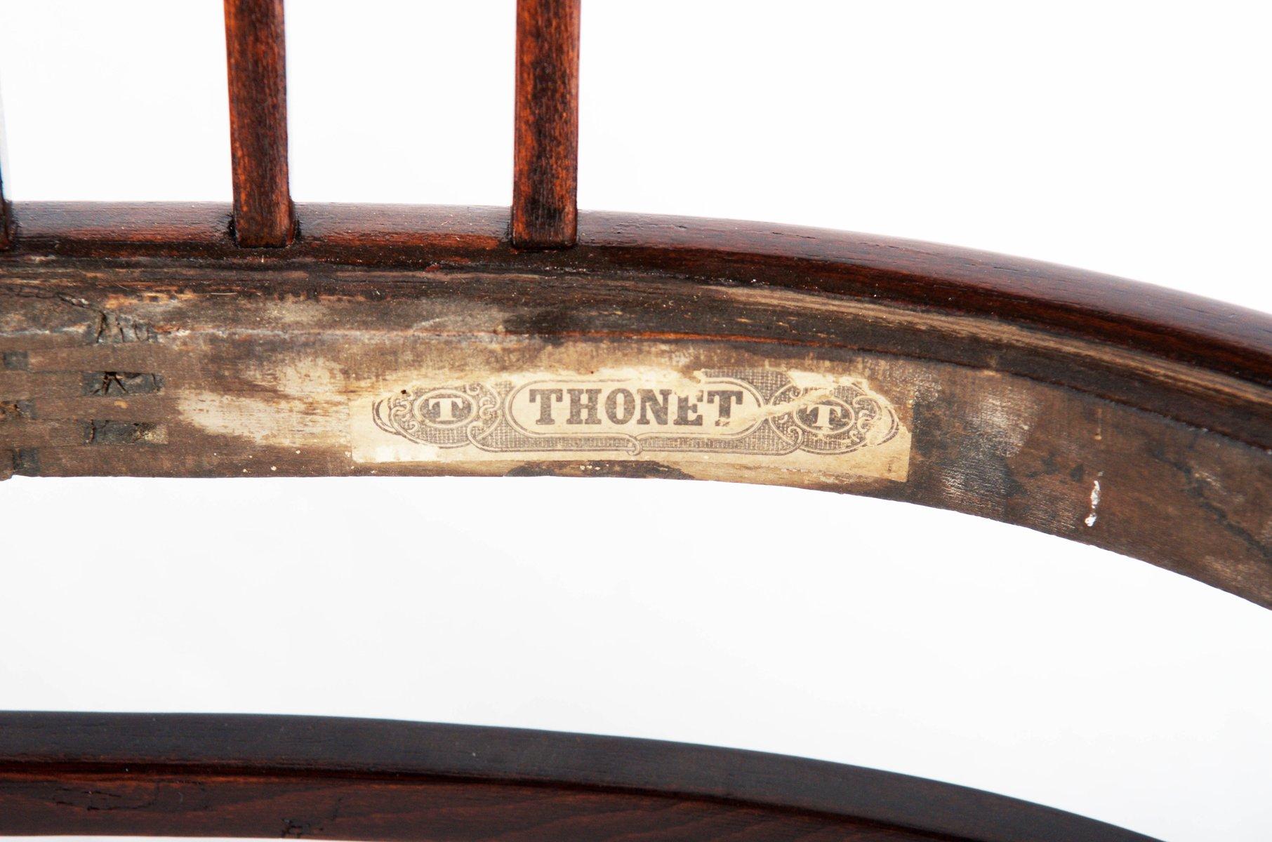 Sedia in faggio di otto wagner per thonet 1905 in vendita su pamono for Sedia thonet originale
