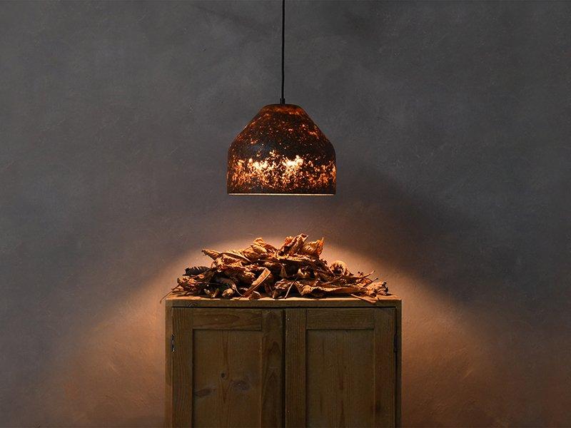 LAAB-Licht & Laub Hängeleuchte (Modell L) von MIYUCA