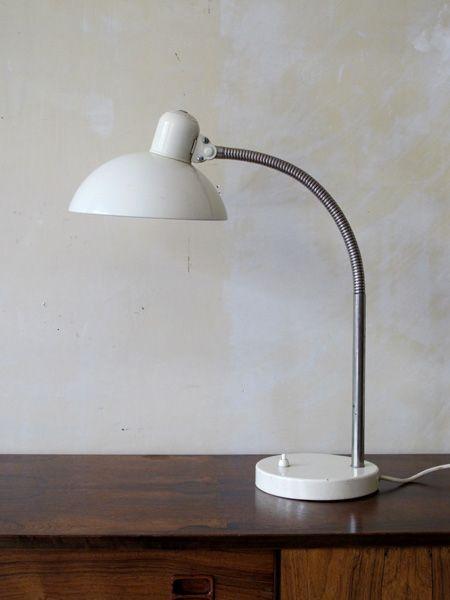 Mid-Century Schreibtischlampe von Christian Dell für Kaiser Idell, 194...