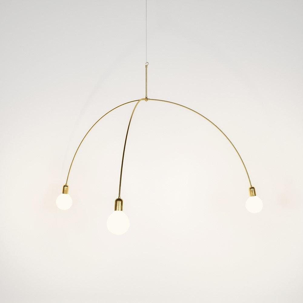 Poséidon Deckenlampe von Nicolas Brevers für Gobo Lights