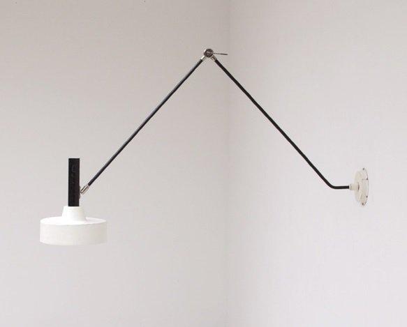 Architektonische Wandlampe, 1960er