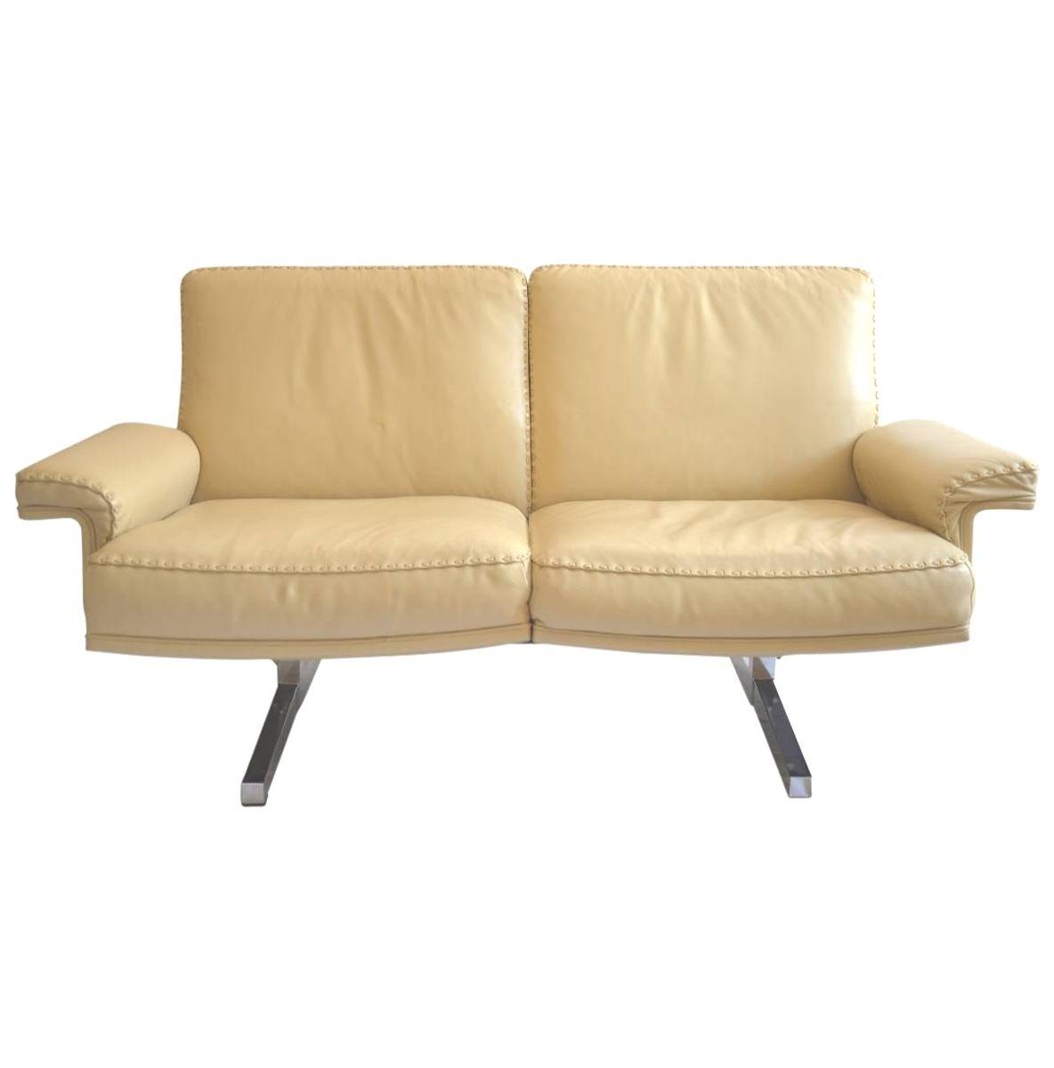 ds 35 zwei sitzer sofa von de sede 1970er bei pamono kaufen. Black Bedroom Furniture Sets. Home Design Ideas