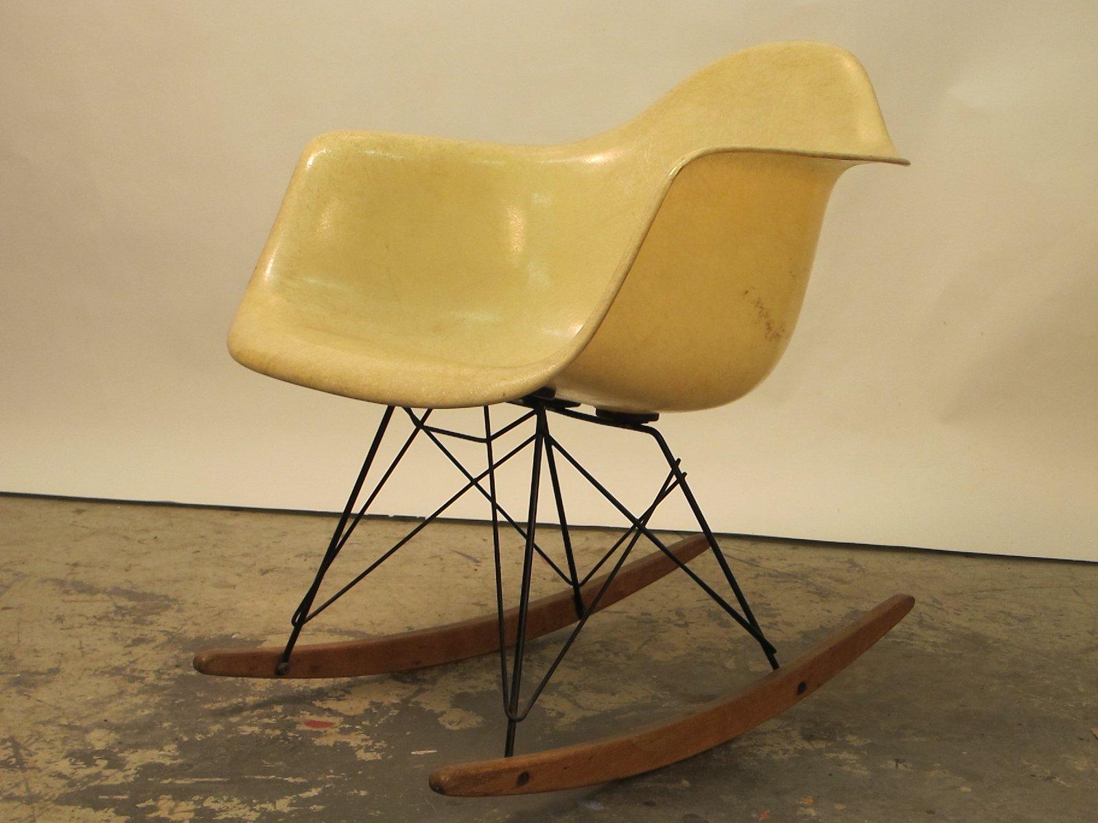 Chaise mod le rar par charles et ray eames pour herman miller 1940s en vente sur pamono - Charles et ray eames chaise ...