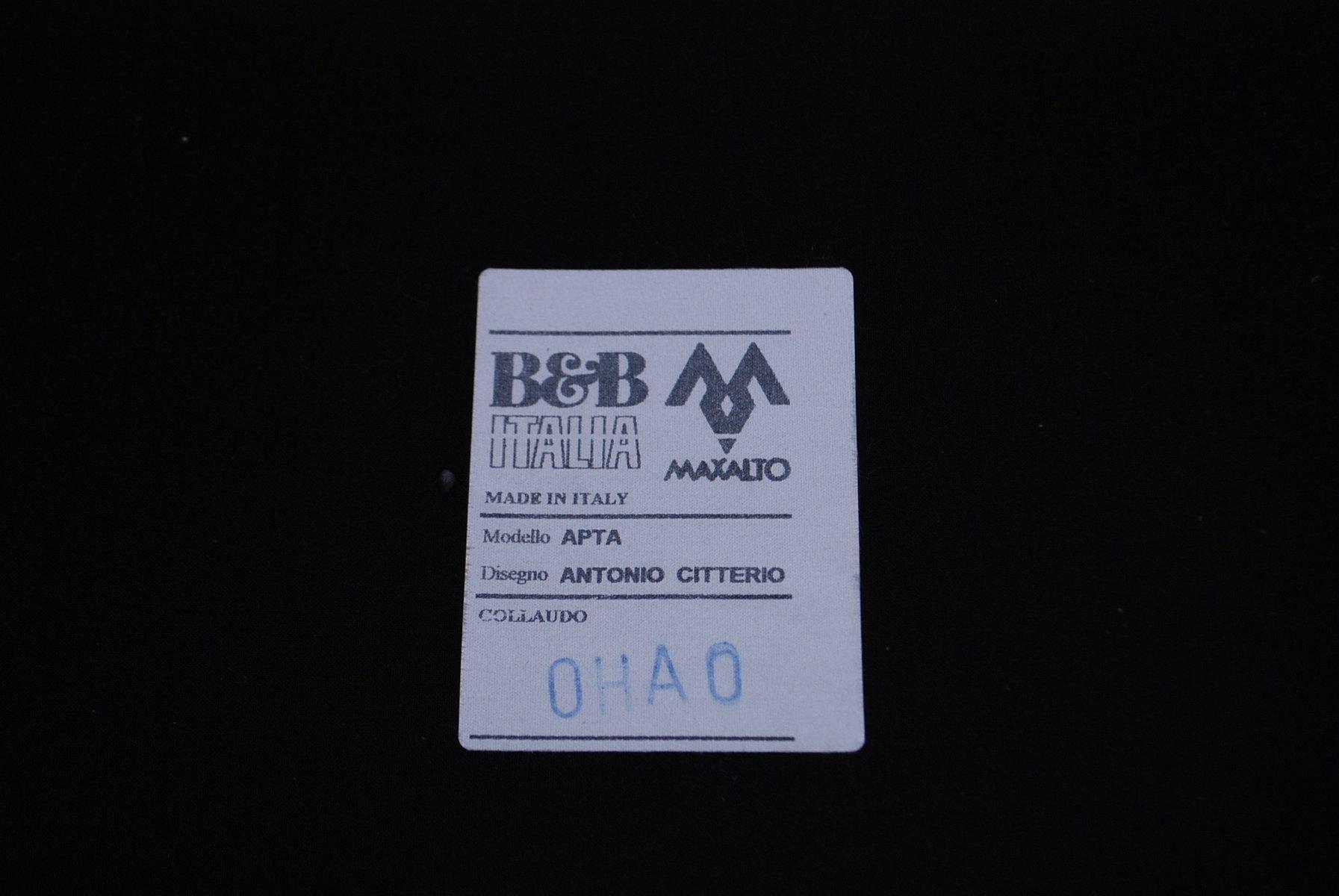 Vintage APTA Sessel von Antonio Citterio für B&B Italia, 2007