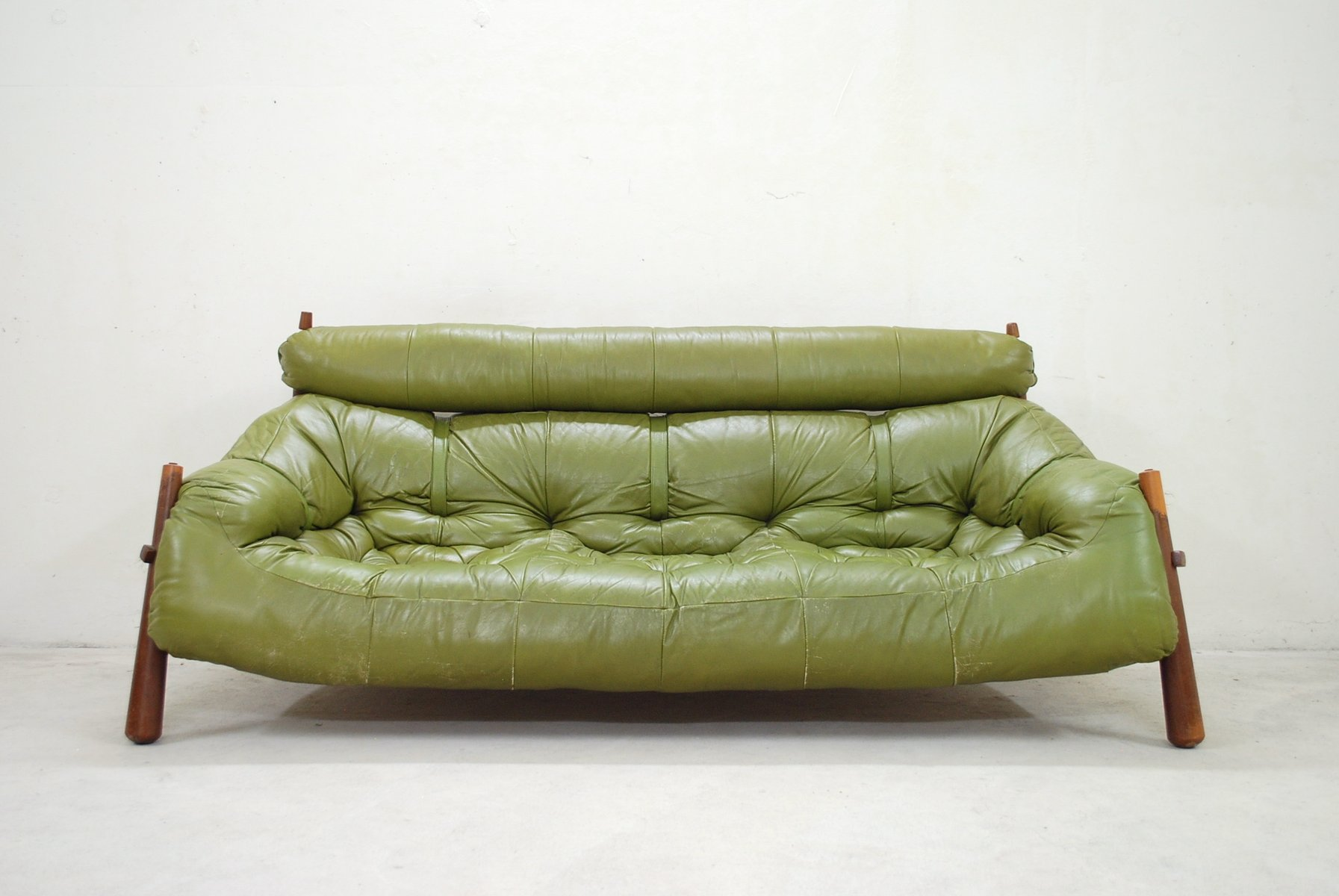 Green Lounge Sofa From Percival Lafer