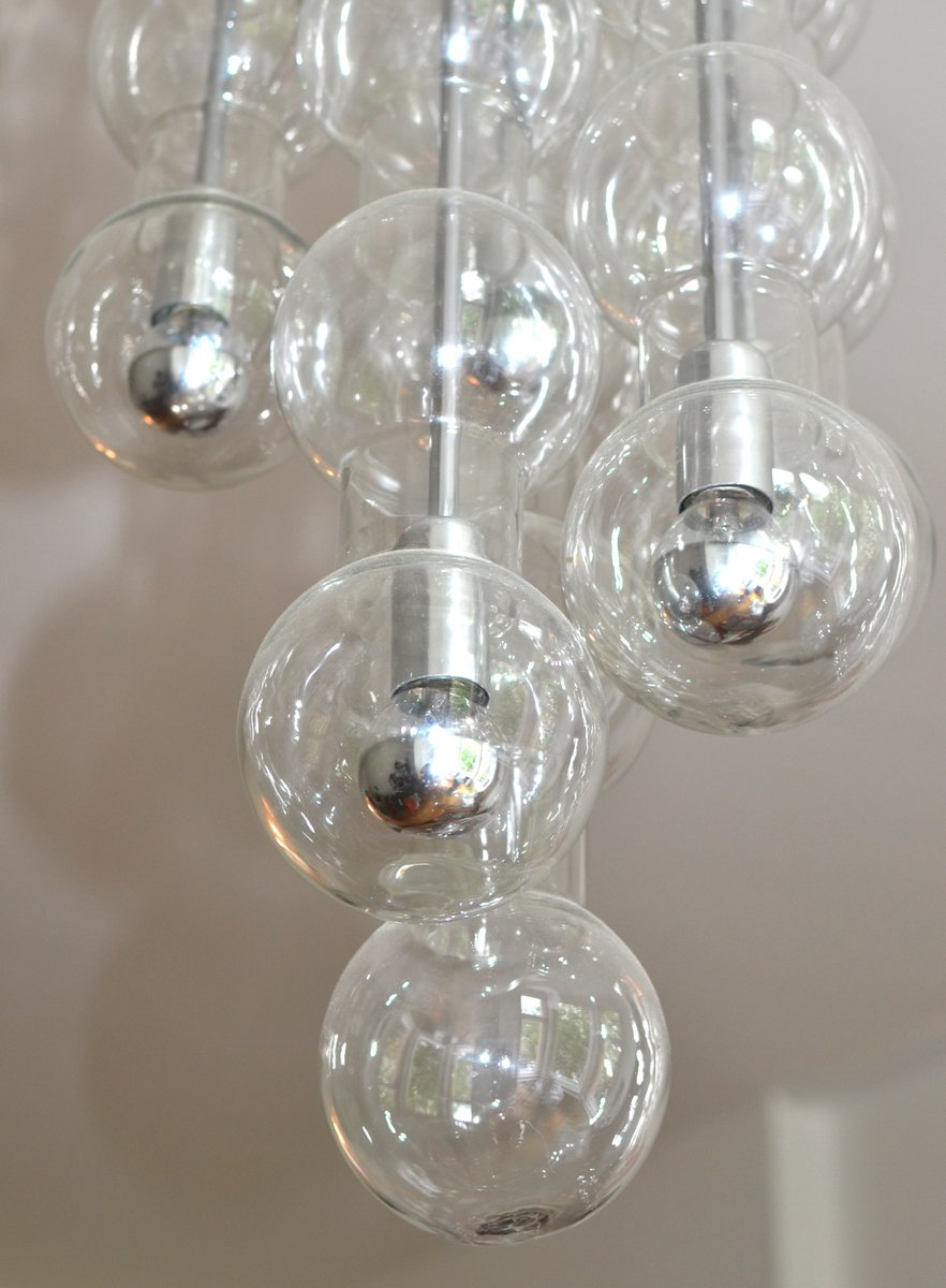 Mid Century Model 4309 Cascade Bubble Lamp From Doria For Sale At Pamono