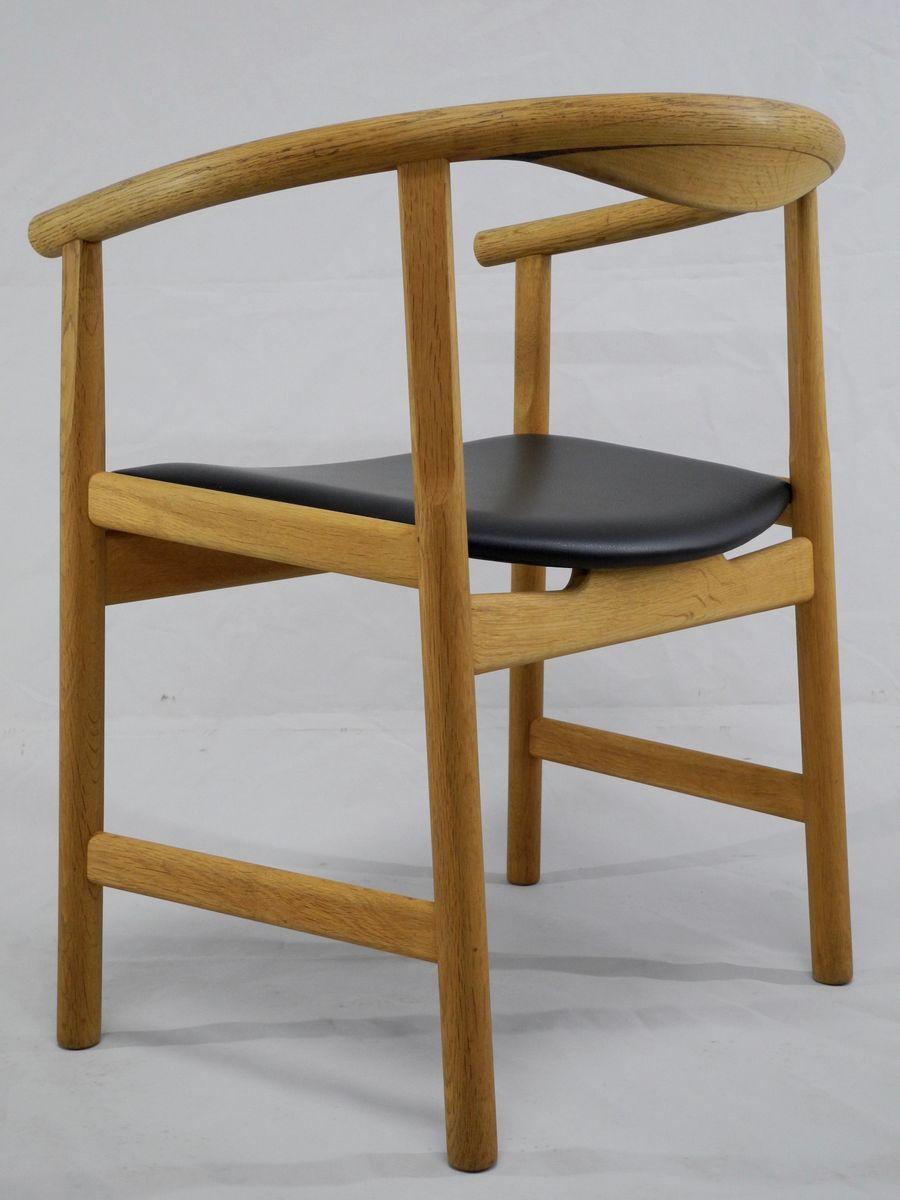 jh 203 stuhl von hans j wegner f r johannes hansen m belsnedkeri 1975 bei pamono kaufen. Black Bedroom Furniture Sets. Home Design Ideas