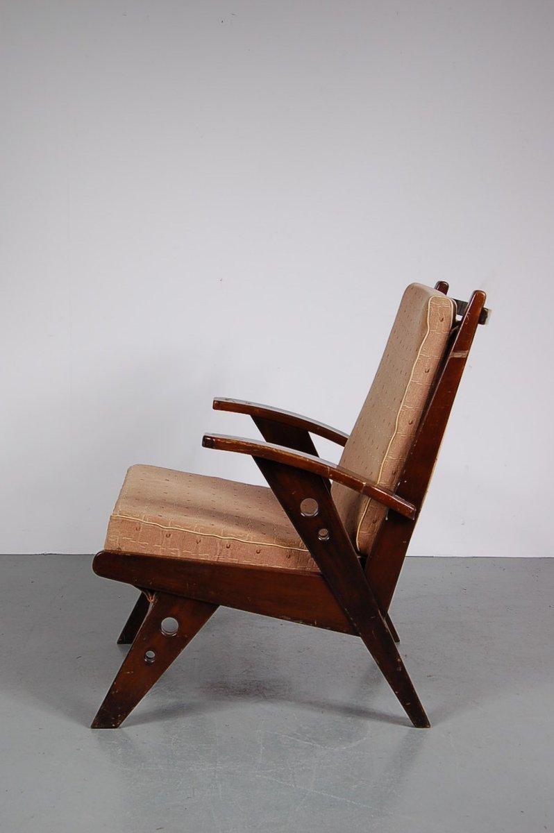 Niederländischer Lounge Stuhl