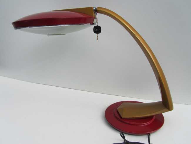 Vintage Schreibtischlampe von Fase, 1960er