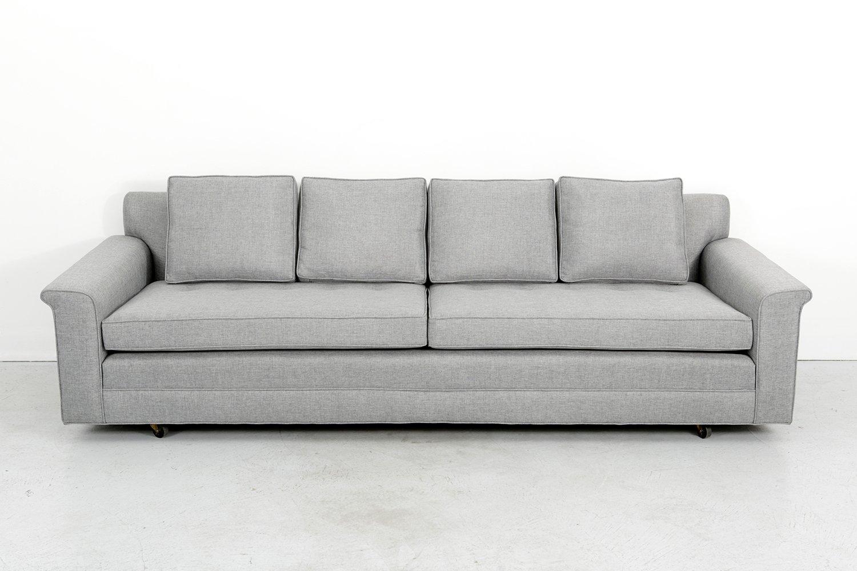 mid century sofa von edward wormley f r dunbar bei pamono kaufen. Black Bedroom Furniture Sets. Home Design Ideas
