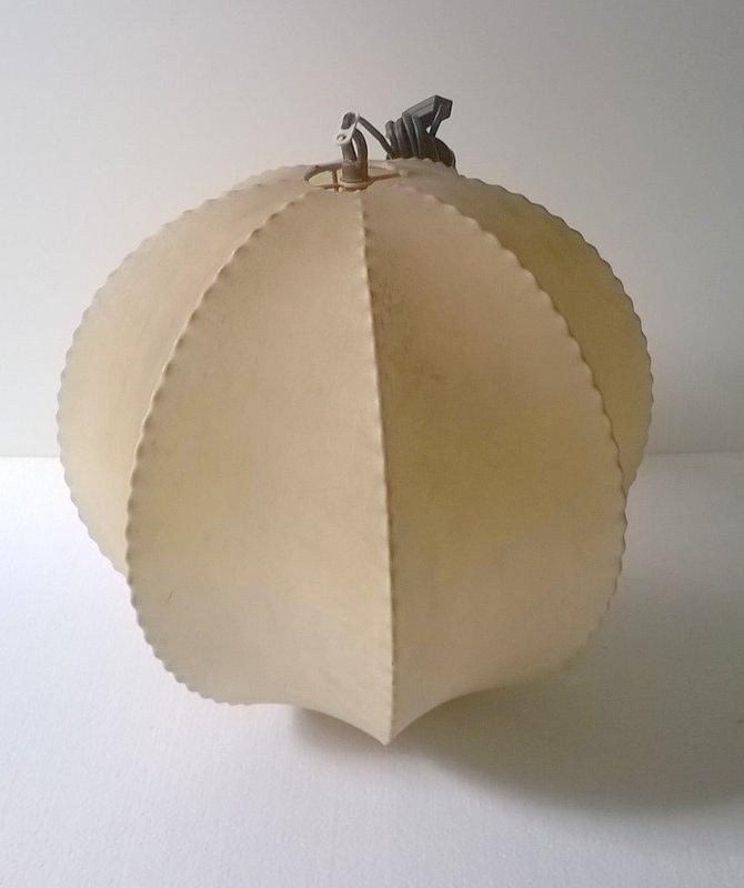 Vintage Kokon Deckenlampe, 1960