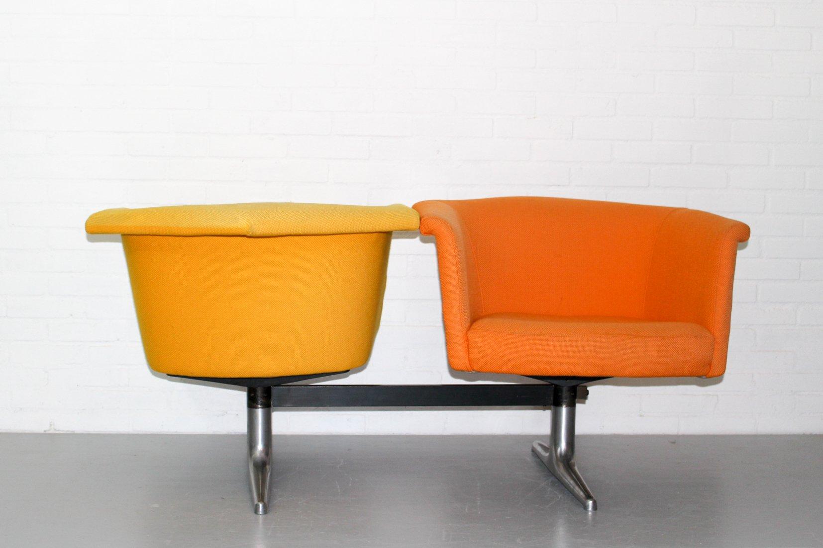 620 modulares zwei sitzer sofa von geoffrey harcourt f r artifort 1970er bei pamono kaufen. Black Bedroom Furniture Sets. Home Design Ideas
