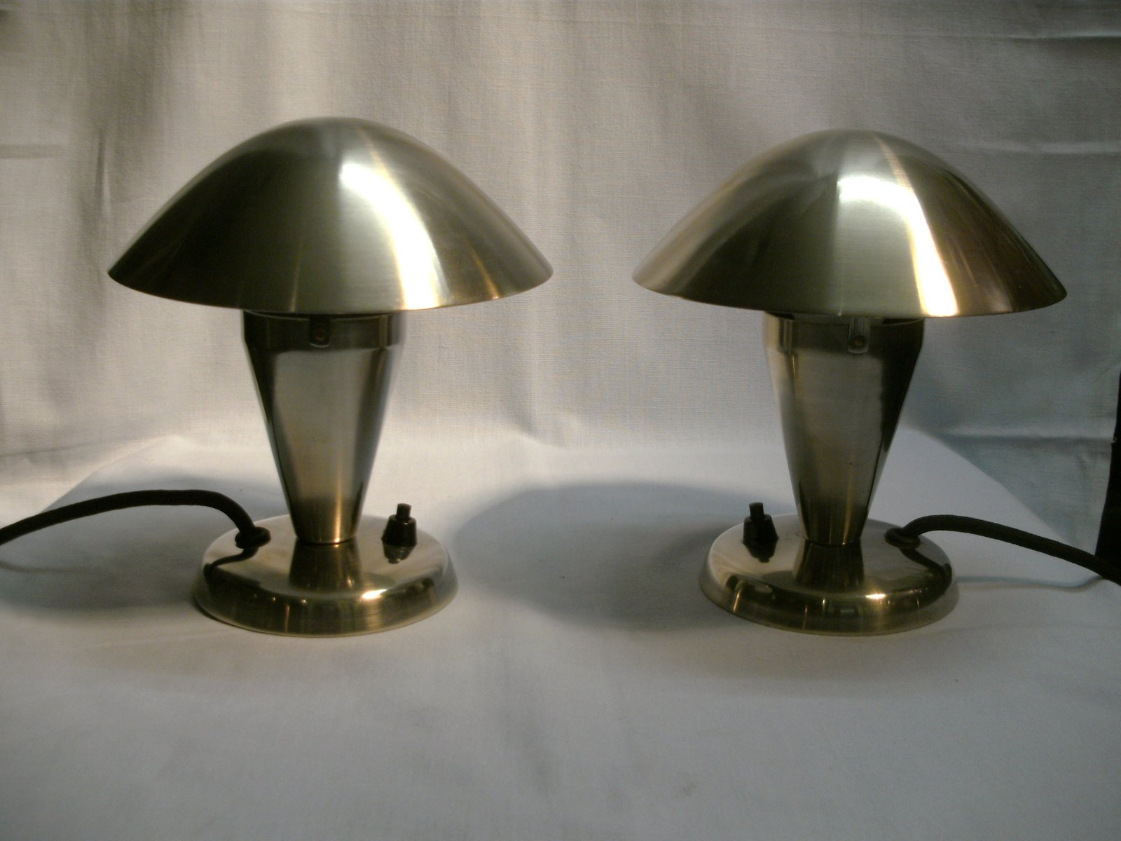 Small Table Lamps From Napako 1930s Set Of 2 For Sale At