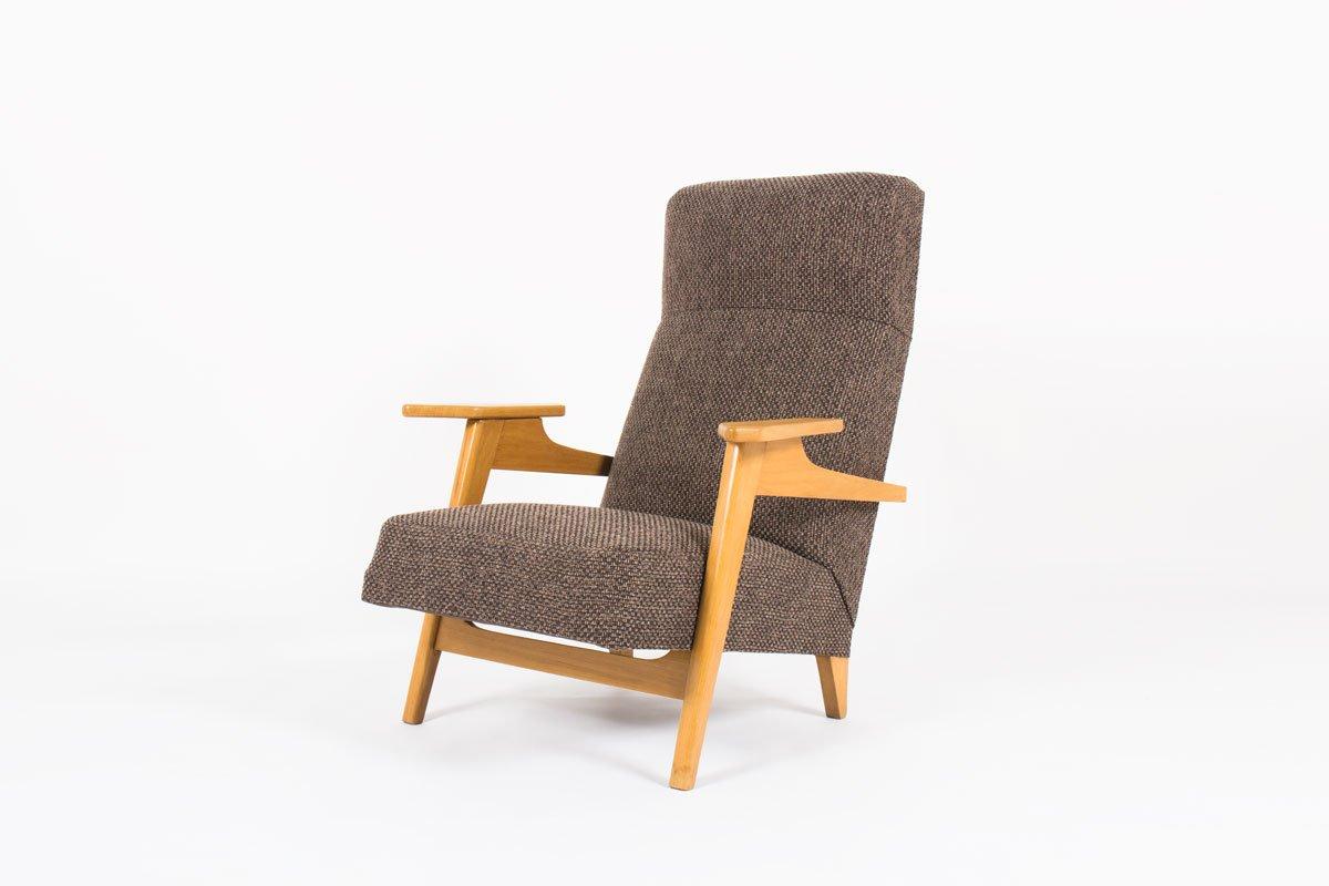 Superieur Scandinavian Style Armchair, 1950s