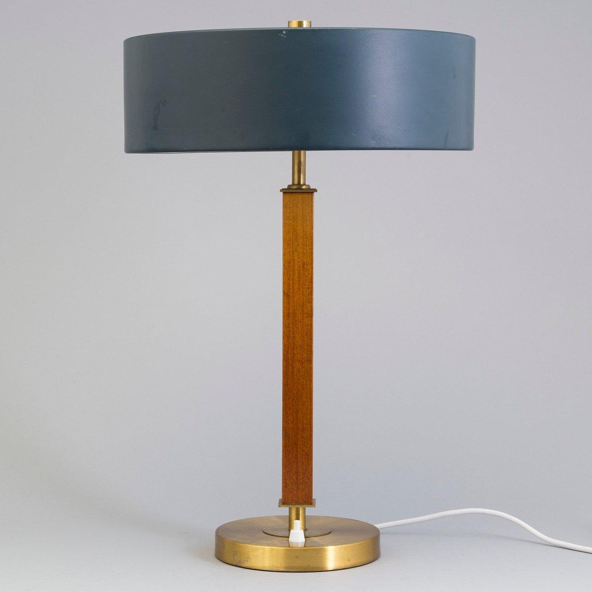 Tischlampe von Einar Backstrom, 1940er