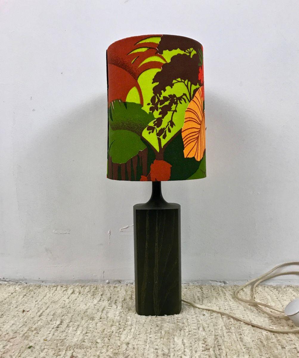 Schwedische Lampe aus Palisander, 1970er