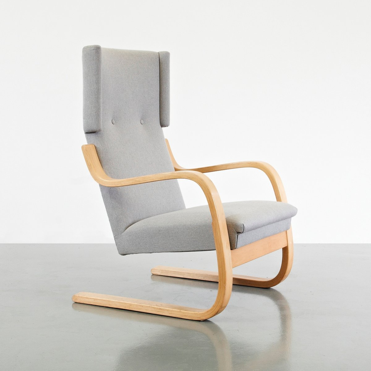 Bon Wingback Lounge Chair By Alvar Aalto, 1950s