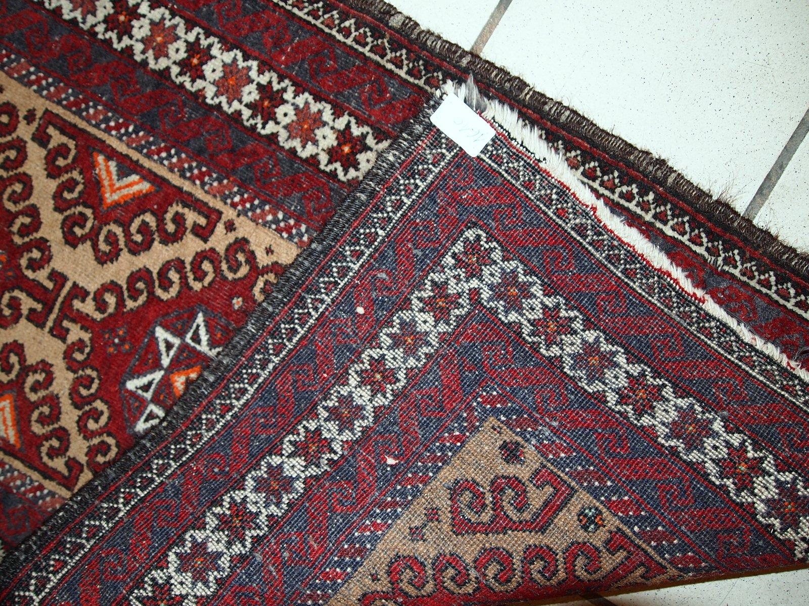 Vintage Handmade Afghan Rug 1940s For Sale At Pamono