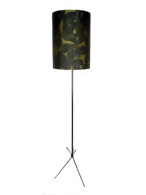 Vintage Dreibein Stehlampe, 1950er