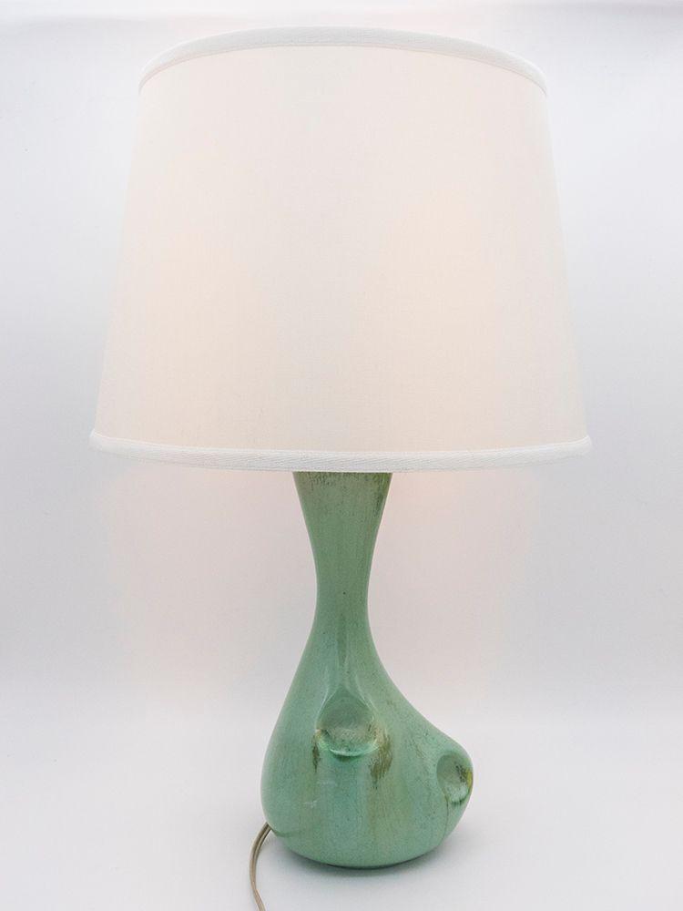 Keramik Tischlampe von Antonia Campi für SCI Laveno, 1953