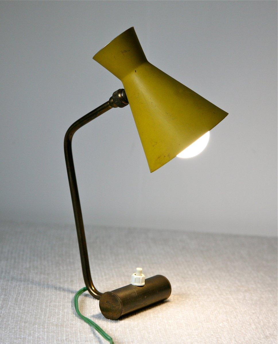 tischlampe mit verstellbarem diabolo schirm 1950er naturheilpraxis gelsenkirchen. Black Bedroom Furniture Sets. Home Design Ideas