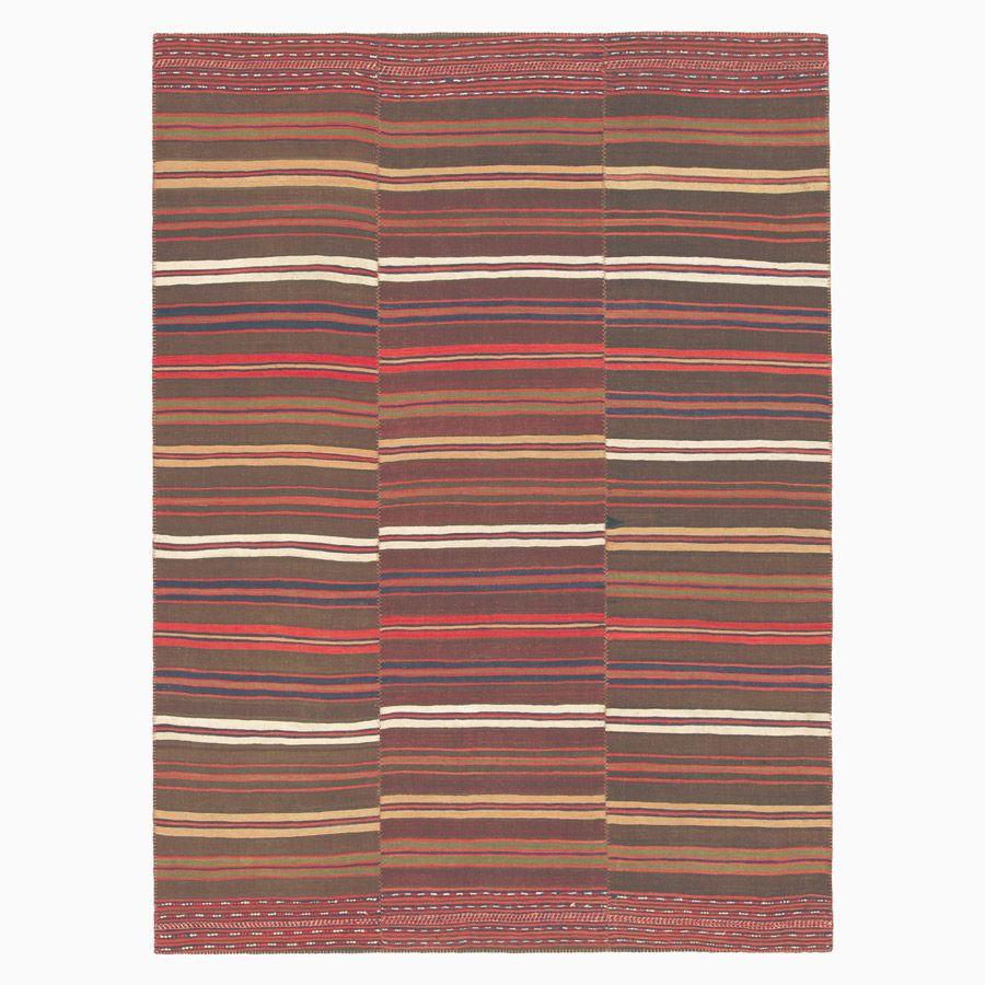 Vintage Kilim Composition Rug, 1940s For Sale At Pamono
