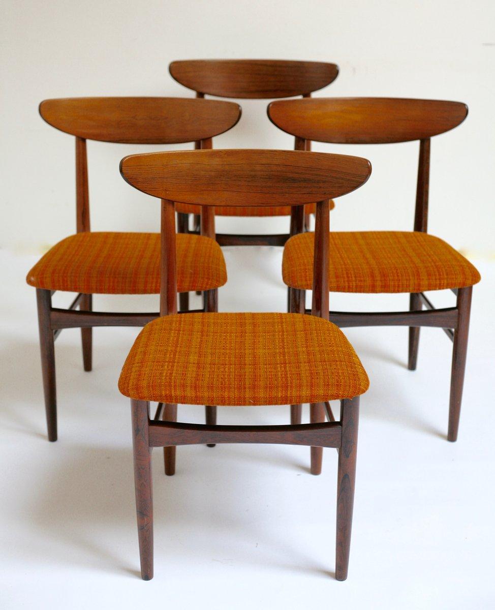 jacaranda esszimmerst hle von skovby 1969 4er set bei pamono kaufen. Black Bedroom Furniture Sets. Home Design Ideas