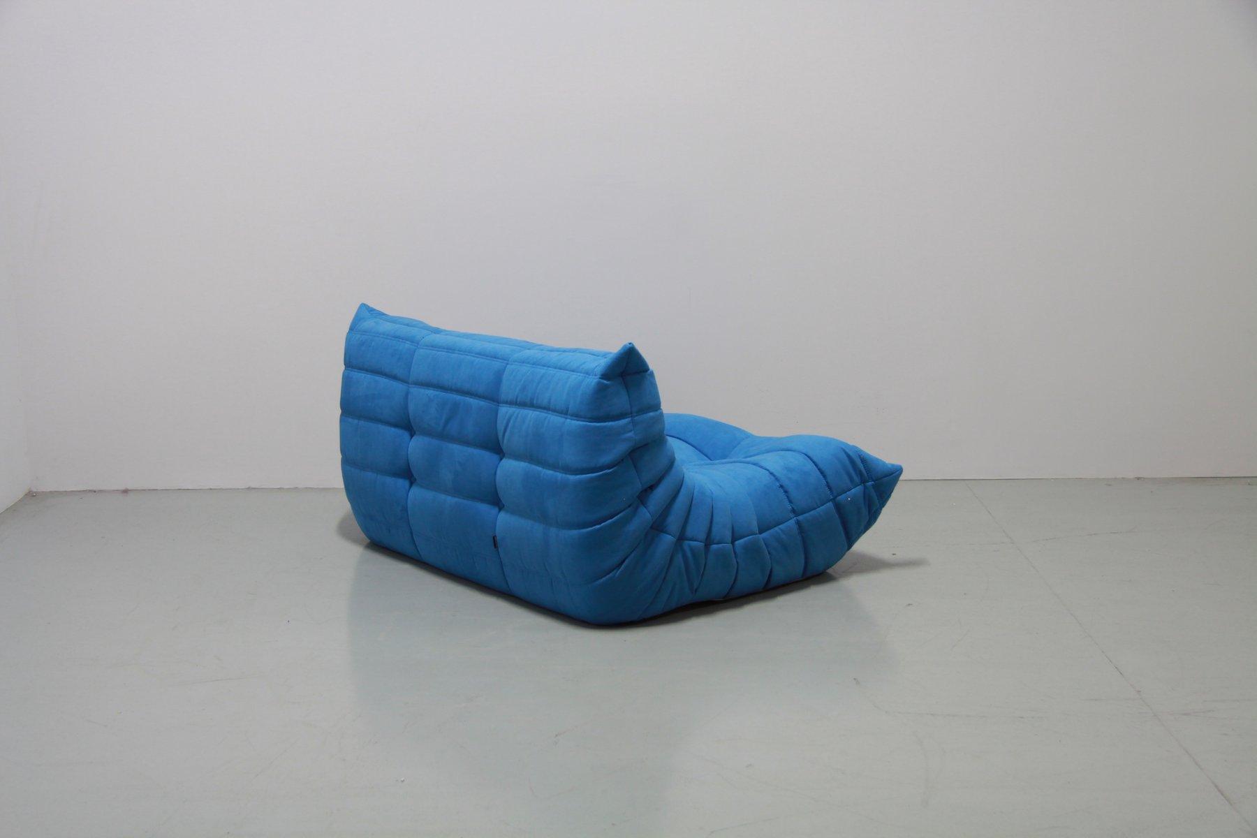 t rkise vintage togo sitzgruppe von michel ducaroy f r ligne roset 1974 bei pamono kaufen. Black Bedroom Furniture Sets. Home Design Ideas