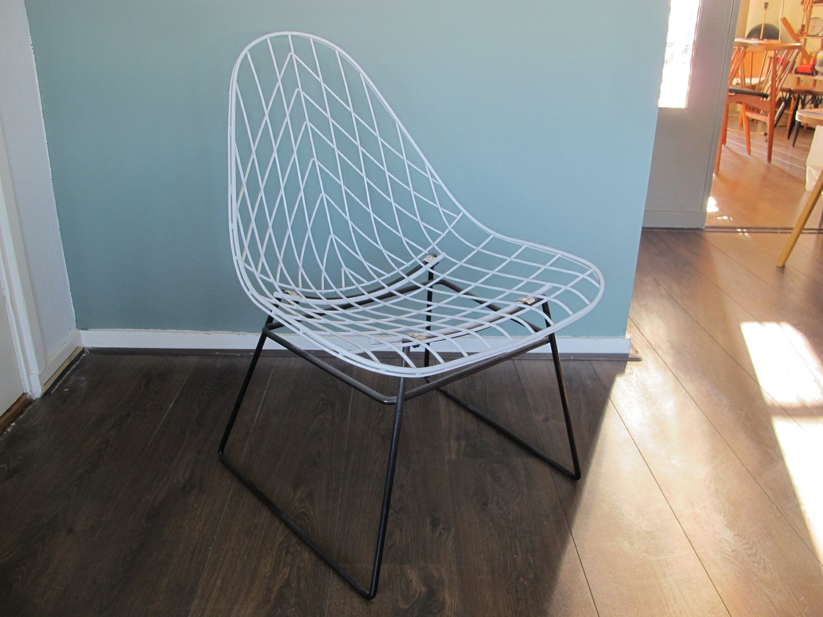 Wire Lounge Chair by Cees Braakman for Pastoe for sale at Pamono