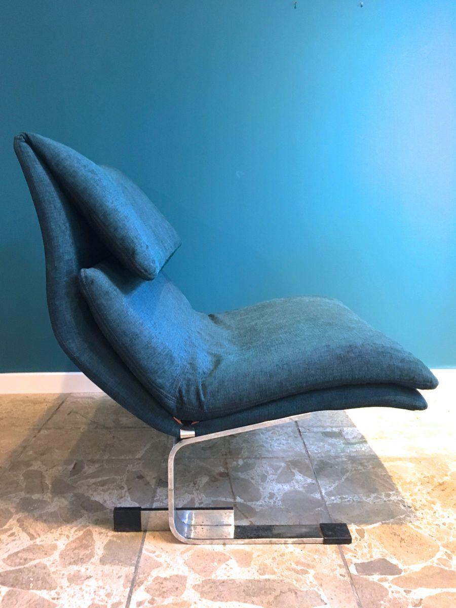 Italienischer Onda Sessel von Giovanni Offredi für Saporiti, 1970er