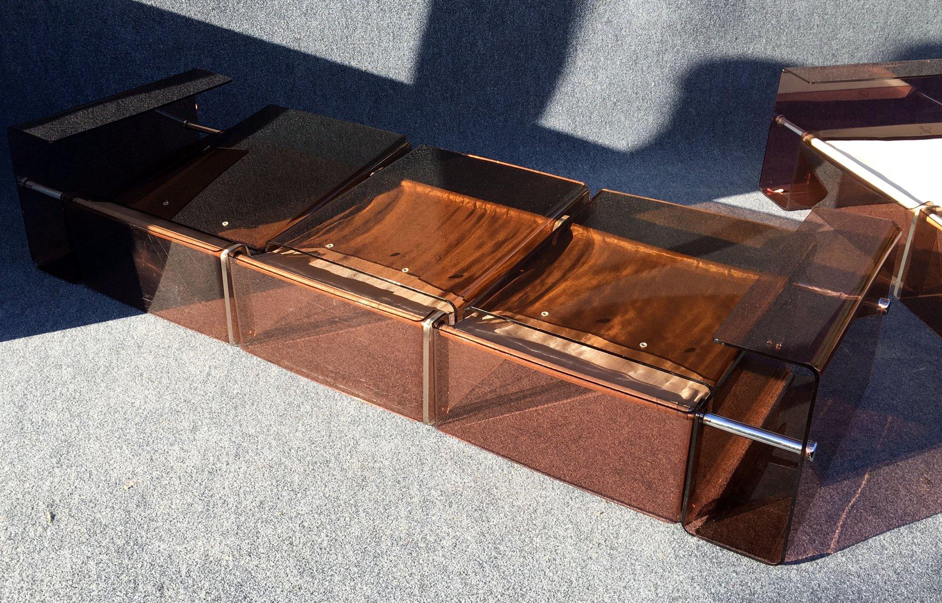 Vintage 2- und 3-Sitzer Sofas, 2er Set