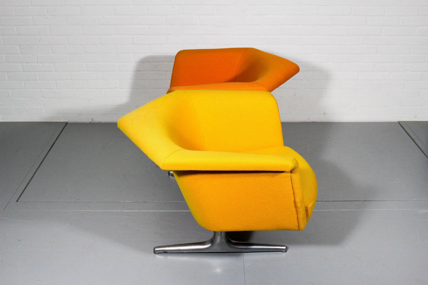 620 Modulares Zwei-Sitzer Sofa von Geoffrey Harcourt für Artifort, 197...