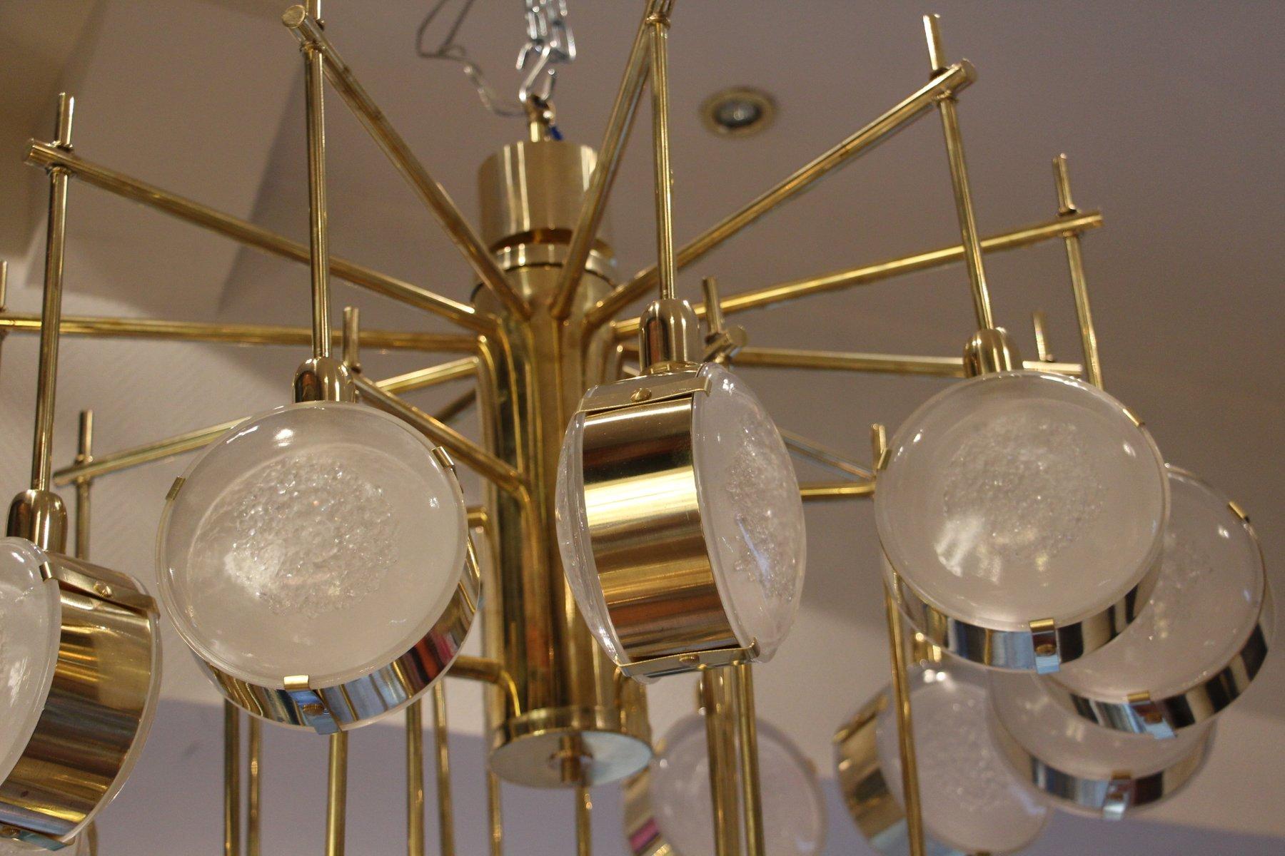 Kronleuchter Modern Glas ~ Kronleuchter modern messing italian modern mid century messing