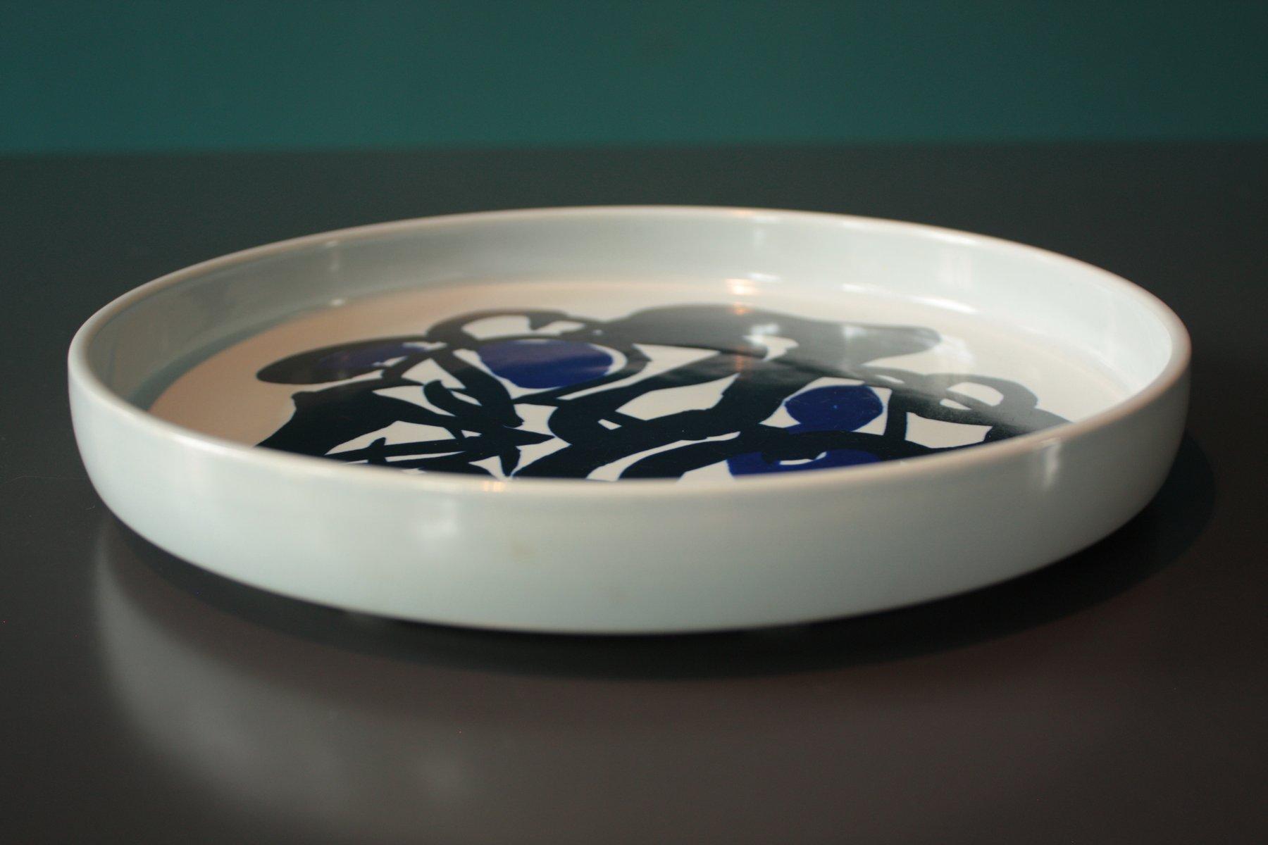 Ceramiche Di Copenaghen Prezzi.Piatto In Ceramica Di Mogens Andersen Per Royal Copenhagen 1979 In