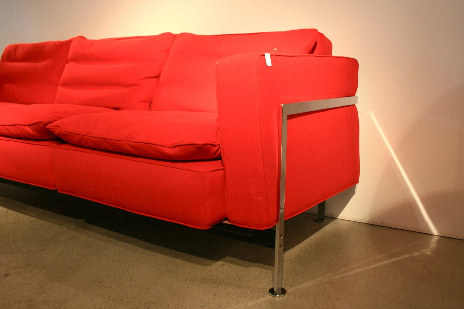 canap 3 places et fauteuil par trix robert haussmann 1960s en vente sur pamono. Black Bedroom Furniture Sets. Home Design Ideas