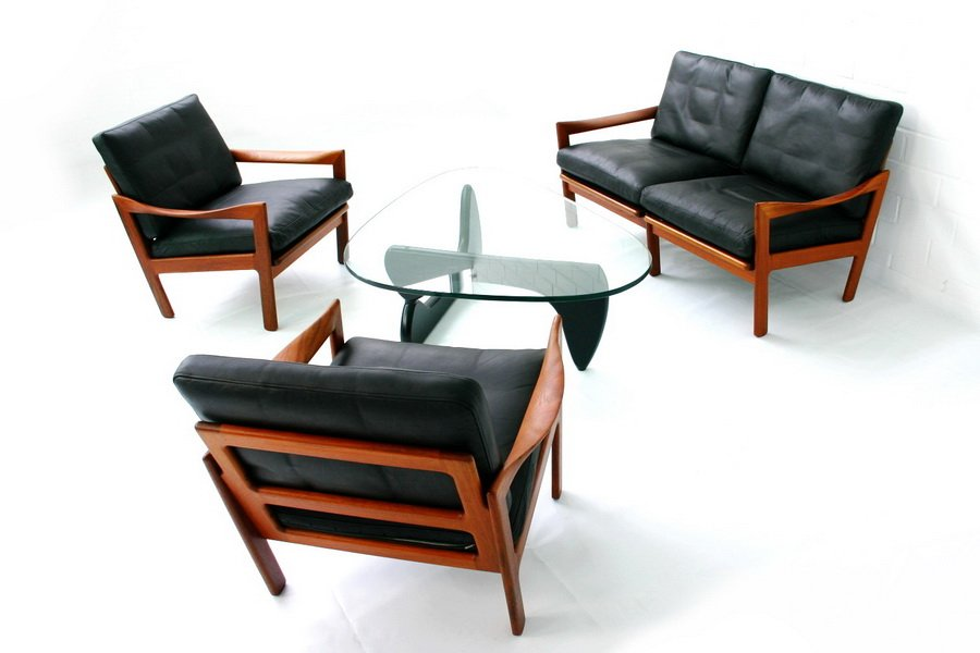 American In 50 Coffee Table By Isamu Noguchi For Herman