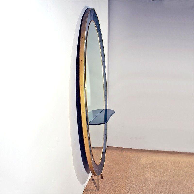 Vintage konsolentisch mit spiegel von cristalarte italien 1950er bei pamono kaufen - Konsolentisch mit spiegel ...