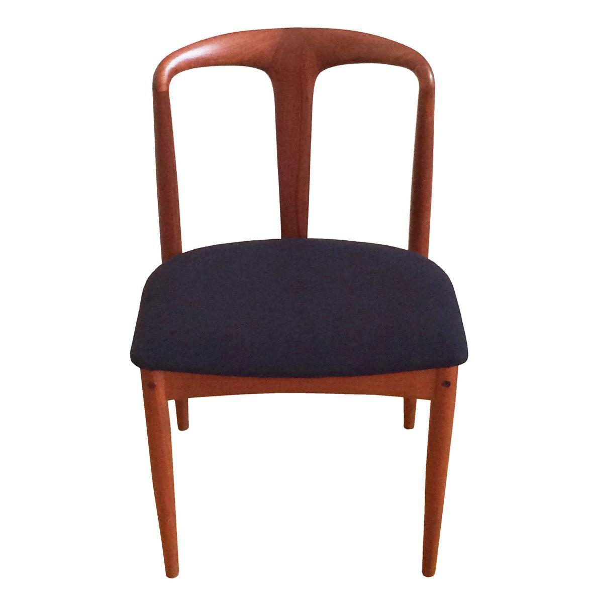 d nischer teakholz juliane stuhl von johannes andersen f r uldum 1960er bei pamono kaufen. Black Bedroom Furniture Sets. Home Design Ideas