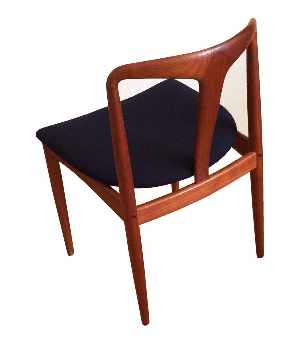 d nischer teakholz juliane stuhl von johannes andersen f r. Black Bedroom Furniture Sets. Home Design Ideas