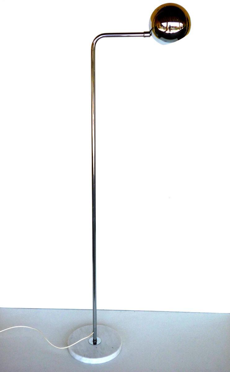 Italienische Space Age Stehlampe von Reggiani, 1960er