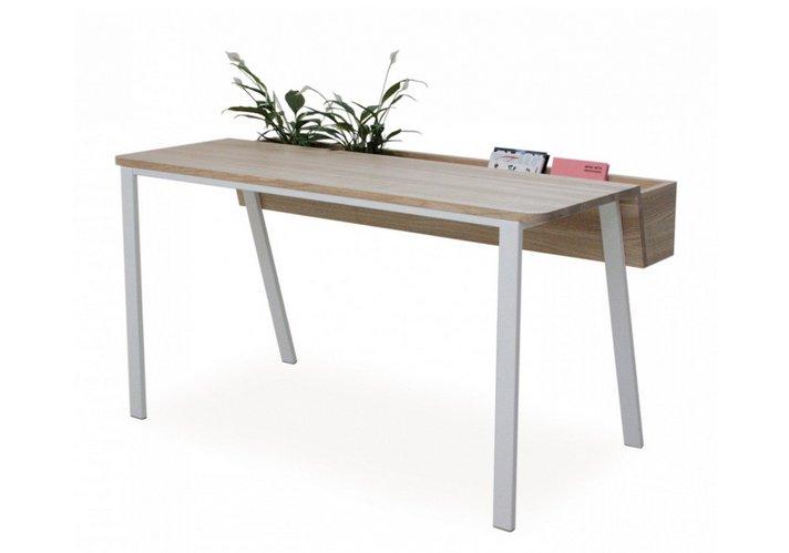 bureau avec rangement int gr pour deux personnes de inekehans collection en vente sur pamono. Black Bedroom Furniture Sets. Home Design Ideas
