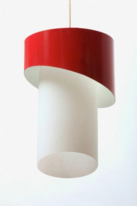 Opalglas Lampe von Philips, 1960er