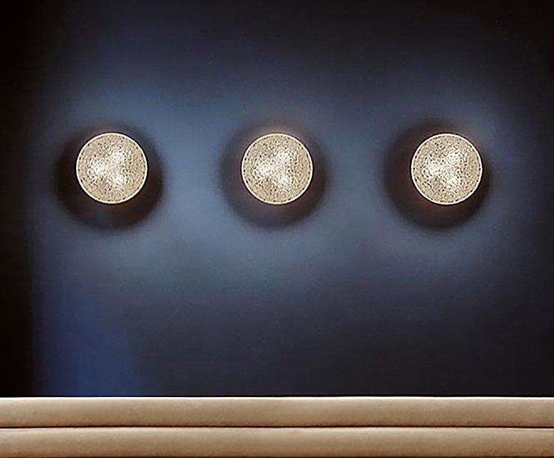 Wandleuchten aus Pressglas von Staff, 1960er, 3er Set