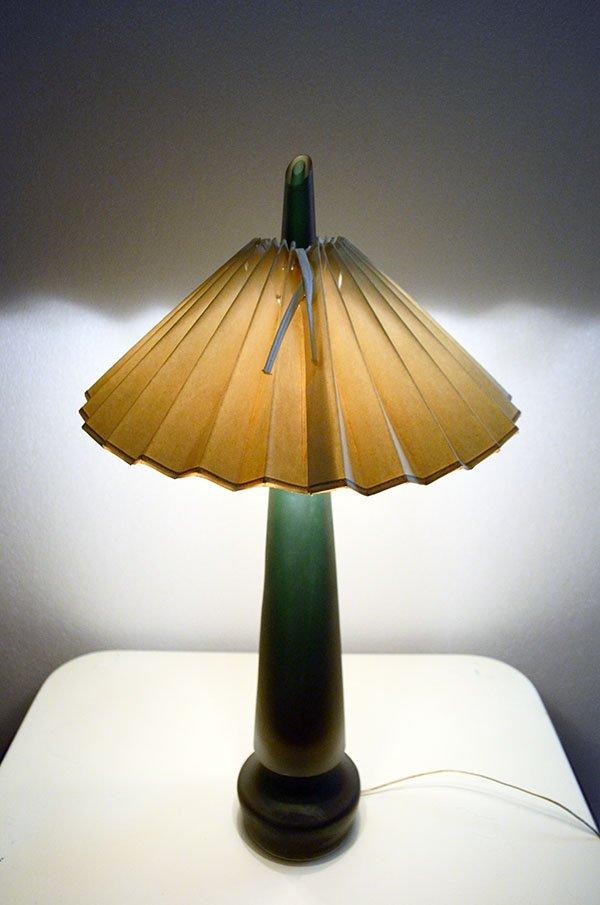 tischlampe aus sommerso murano glas von seguso 1950er bei pamono kaufen. Black Bedroom Furniture Sets. Home Design Ideas