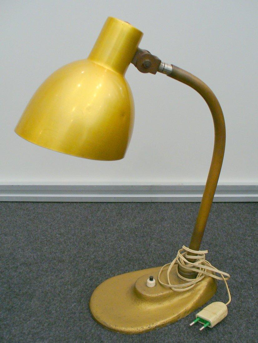 lampe de bureau vintage par marianne brandt 1934 en vente sur pamono. Black Bedroom Furniture Sets. Home Design Ideas