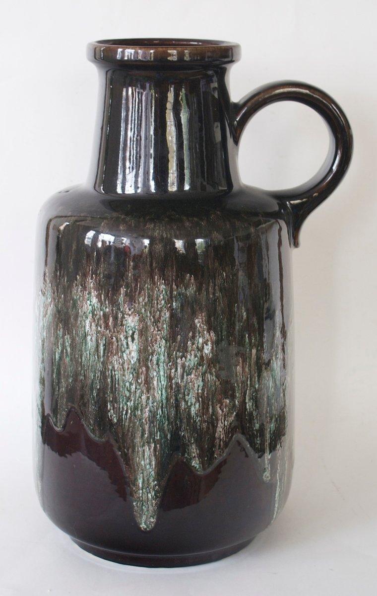 large floor vase from scheurich 1970s for sale at pamono. Black Bedroom Furniture Sets. Home Design Ideas