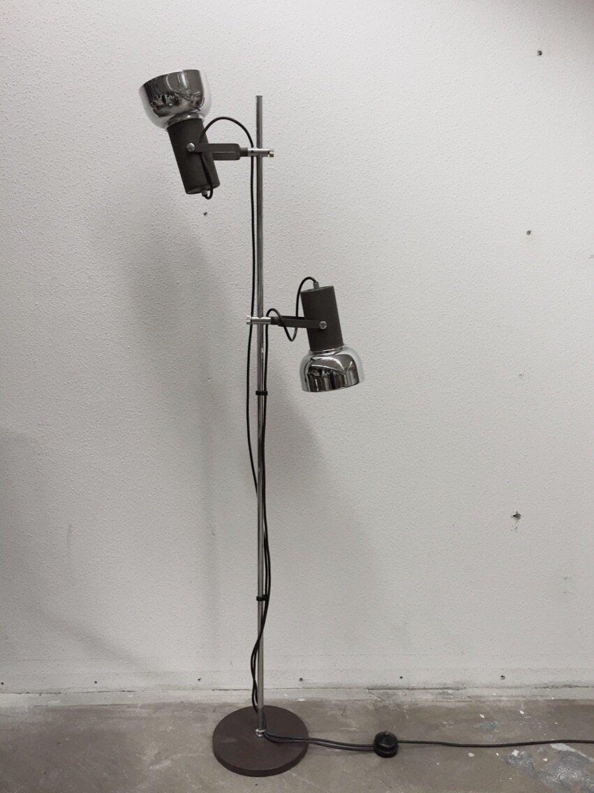 Vintage Industrie Stehlampe, 1960er