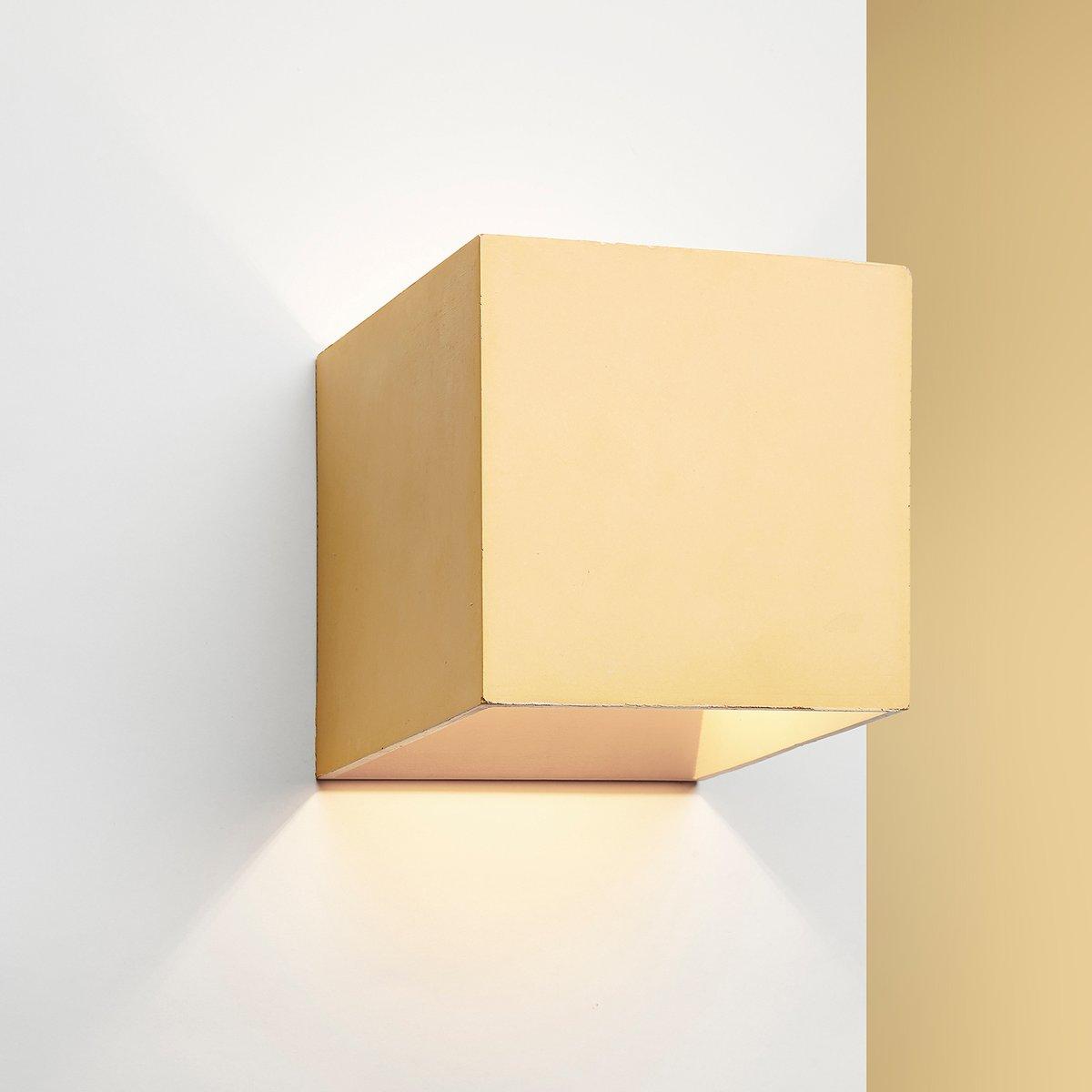 Cromia Wandlampe in Gelb von Plato Design