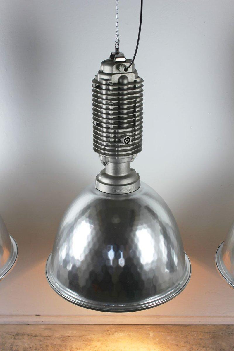 Große Industrie Fabriklampe von Charles Keller für Zumtobel, 1980er